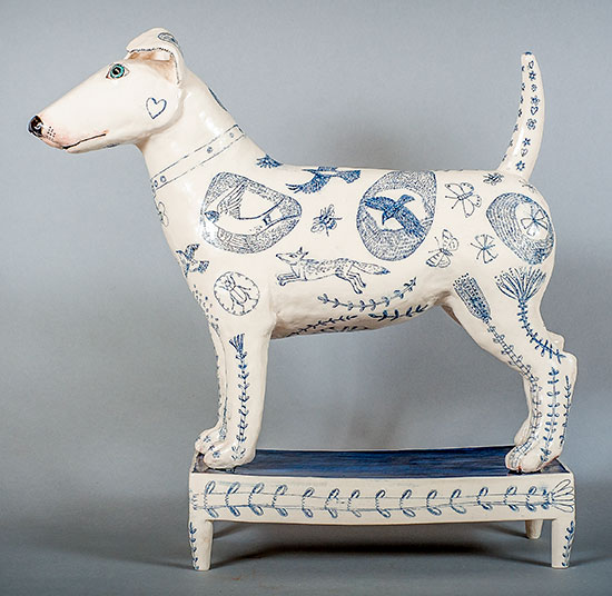 Ceramic artwork by G Warne
